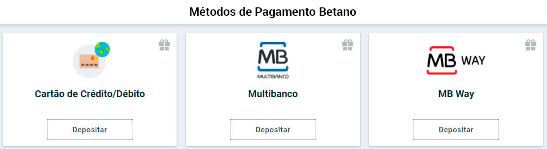 Métodos de Pagamento Betano para pc